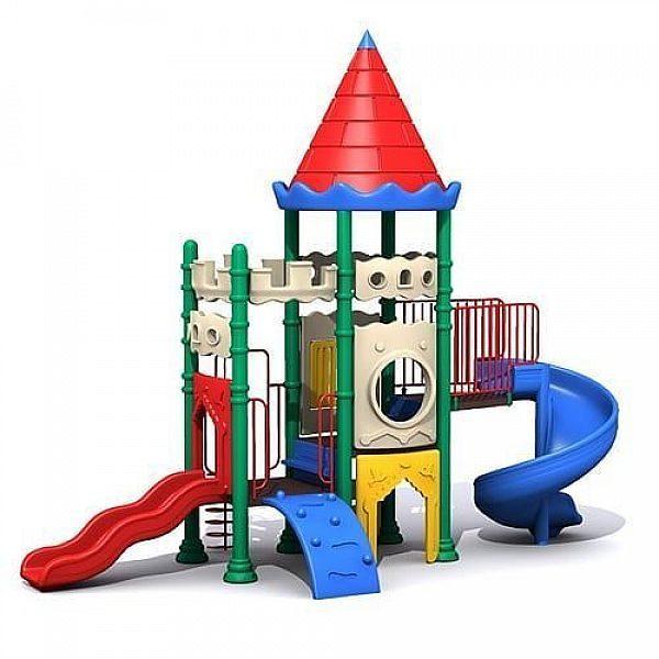 Игровые комлексы для детей на тему замков