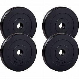 Набор дисков для штанги/гантелей Fit-On 4х2,5кг