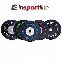 Олимпийский диск обрезиненный 5-10-15-20-25 кг Insportline