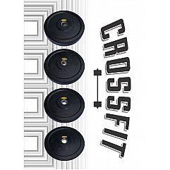 Бамперные диски Iron Body CrossFit