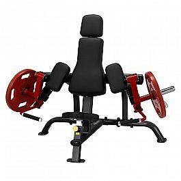 Тренажер для упражнений на бицепс Steelflex PlateLoad line PLBC черно-красный