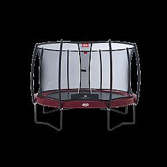 Батут Berg Elite + Regular Red 380 см + Safety Net T-series 380 см арт. 37.12.81..