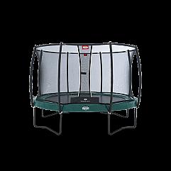 Батут Berg Elite+ Regular Green 380 см + Safety Net T-series 380 см арт. 37.12.9..