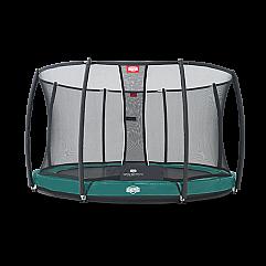 Батут Berg Elite+InGround Green 430 см + Safety Net T-series 430 см арт. 37.14.9..