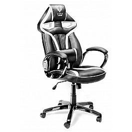 Геймерское кресло Diablo X-Gamer Plus черно-белое