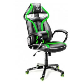 Геймерское кресло Diablo X-Gamer Plus черно-зеленое