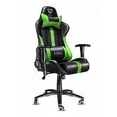 Геймерское кресло Diablo X-Player черно-зеленое