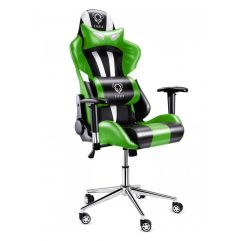 Геймерское кресло Diablo X-Eye черно-зеленое