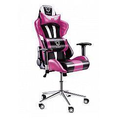 Геймерское кресло Diablo X-Eye черно-розовый