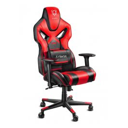 Геймерское кресло Diablo X-Fighter черно-красное