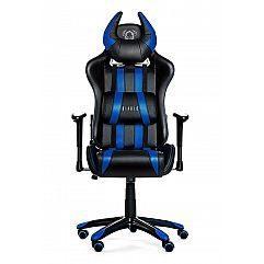 Геймерское кресло Diablo X-One Horn черно-синее