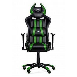 Геймерское кресло Diablo X-One Horn черно-зеленое