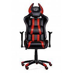 Геймерское кресло Diablo X-One Horn черно-красное