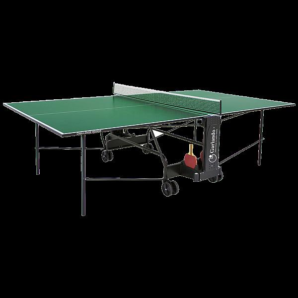 Теннисный стол Garlando Challenge indoor зеленый