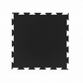 Напольное покрытие для тренажеров Marbo Sport Premium пазл, черный