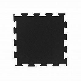 Напольное покрытие для тренажеров Marbo Sport пазл, черный