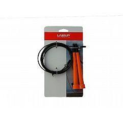 Скоростная скакалка CABLE JUMPROPE LiveUp orange (LS3122)