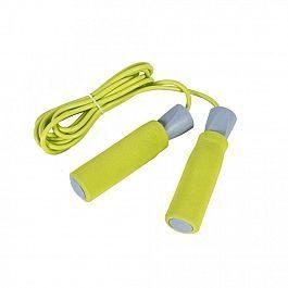 Скакалка LiveUP PVC Foam Handle Jump Rope Желтый (LS3118)