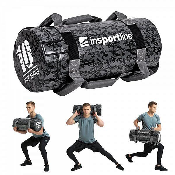 Мешок с песком для тренировок Fitness Crossfit inSPORTline Fitbag Camu 10кг