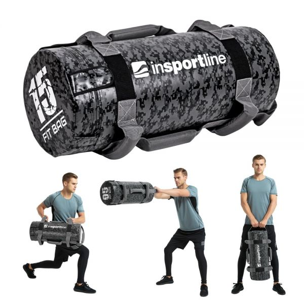 Мешок с песком для тренировок Fitness Crossfit inSPORTline Fitbag Camu 15кг