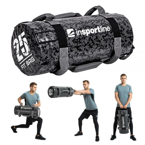 Мешок с песком для тренировок Fitness Crossfit inSPORTline Fitbag Camu 25кг