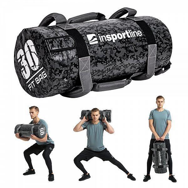Мешок с песком для тренировок Fitness Crossfit inSPORTline Fitbag Camu 30кг