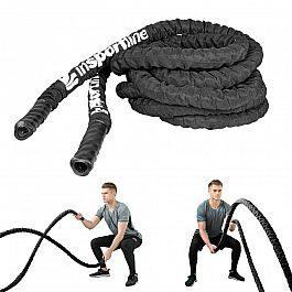 Канат тренировочный InSPORTline WaveRope 9м