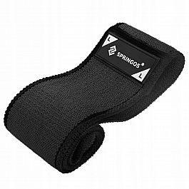 Резинка для фитнеса и спорта тканевая Springos Hip Band Size L FA0115