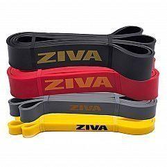 Силовая лента Ziva PRO Latex Band