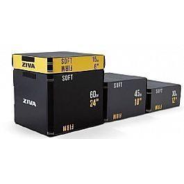 Набор плиобоксов Ziva Dual Surface Plyo Box 3шт