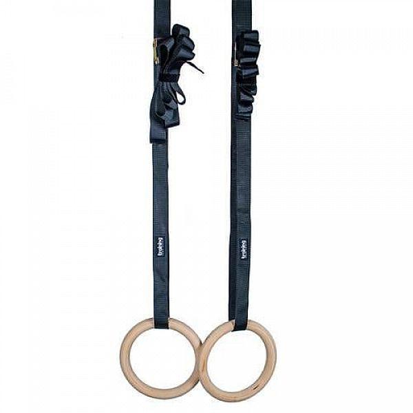 Деревянные гимнастические кольца TSR Basic