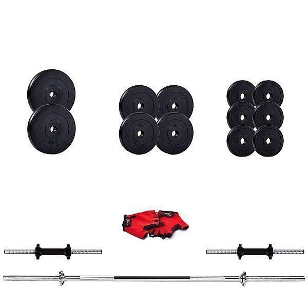 Наборная штанга и гантели Iron Body 39,5кг