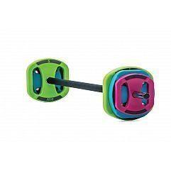 Гриф с полиуретановыми дисками для фитнеса Space Bar Apus