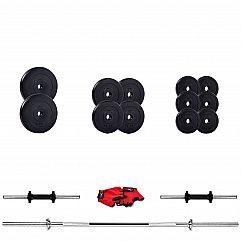 Штанга и гантели Iron Body Strong 37кг