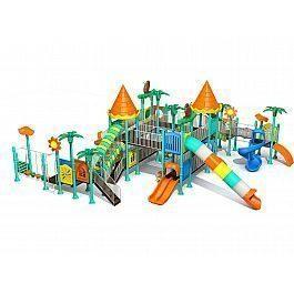 Игровой комлекс-площадка для детей Castle Seies HDS-CB029