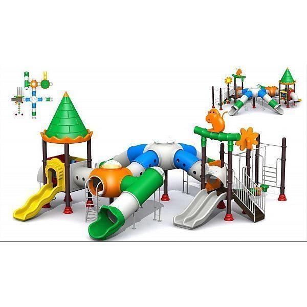 Игровой комлекс-площадка для детей Castle Seies HDS-CB107