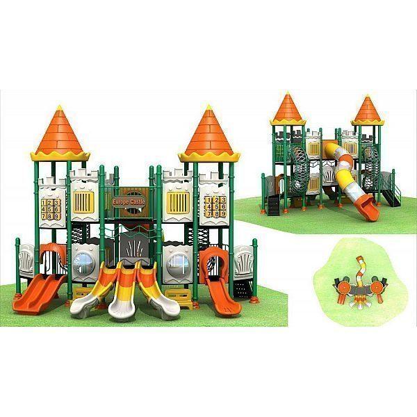 Игровой комлекс-площадка для детей Castle Seies HDS-CB1119
