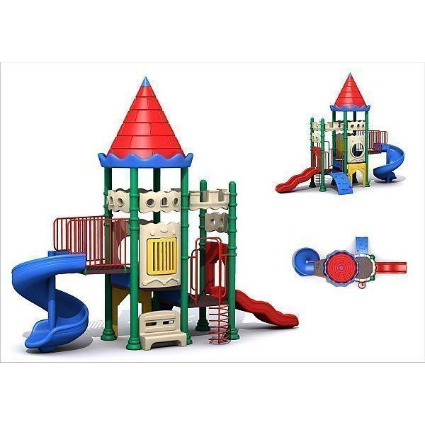 Игровой комлекс-площадка для детей Castle Seies HDS-CB112