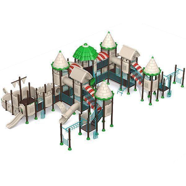 Игровой комлекс-площадка для детей Castle Seies HDS-CB113