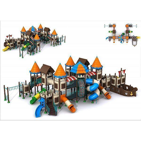 Игровой комлекс-площадка для детей Castle Seies HDS-CB113-2