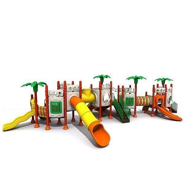 Игровой комлекс-площадка для детей Castle Seies HDS-CB115