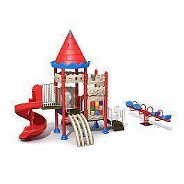 Игровой комлекс-площадка для детей Castle Seies HDS-CB120