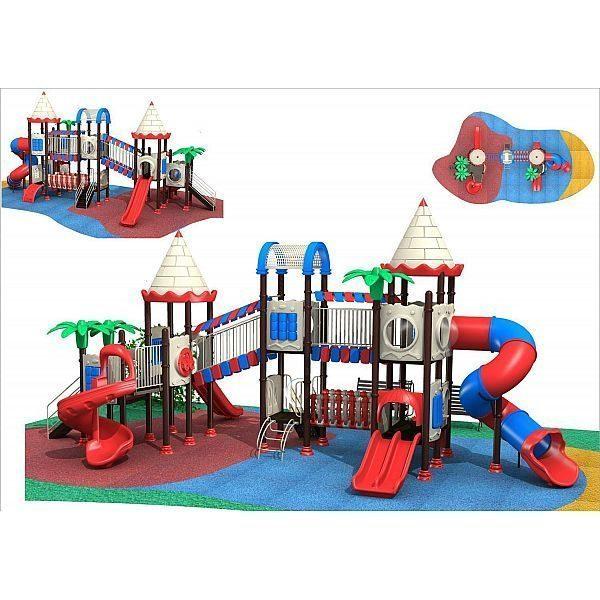 Игровой комлекс-площадка для детей Castle Seies HDS-CB1281