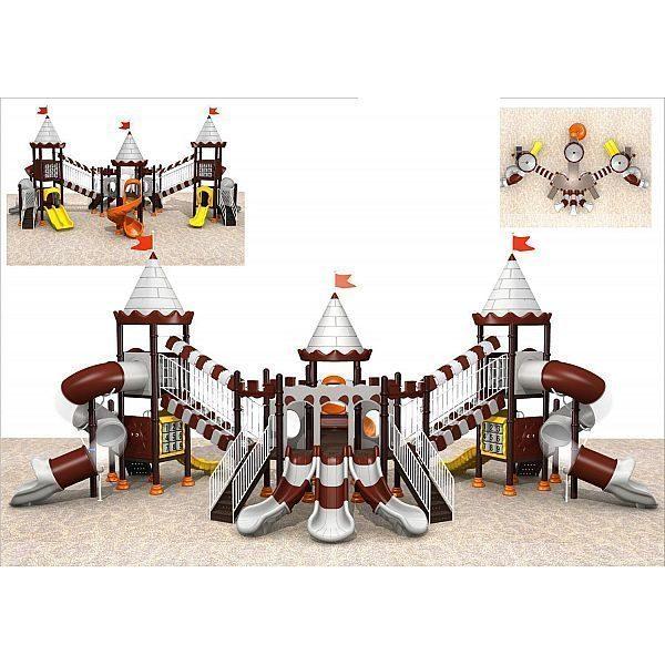 Игровой комлекс-площадка для детей Castle Seies HDS-CB1295