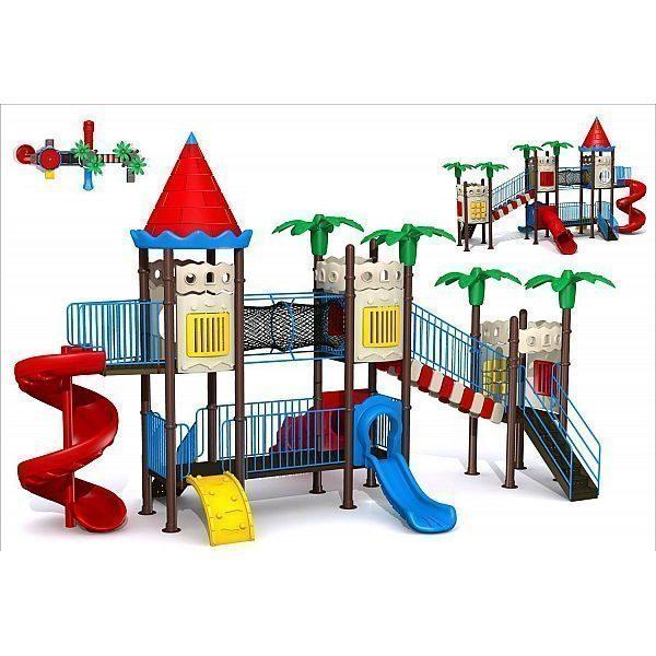 Игровой комлекс-площадка для детей Castle Seies HDS-CB1339