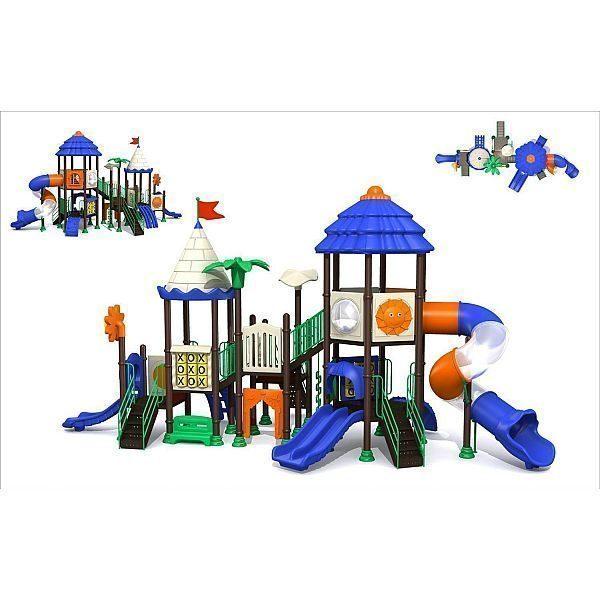 Игровой комлекс-площадка для детей Castle Seies HDS-CB1405
