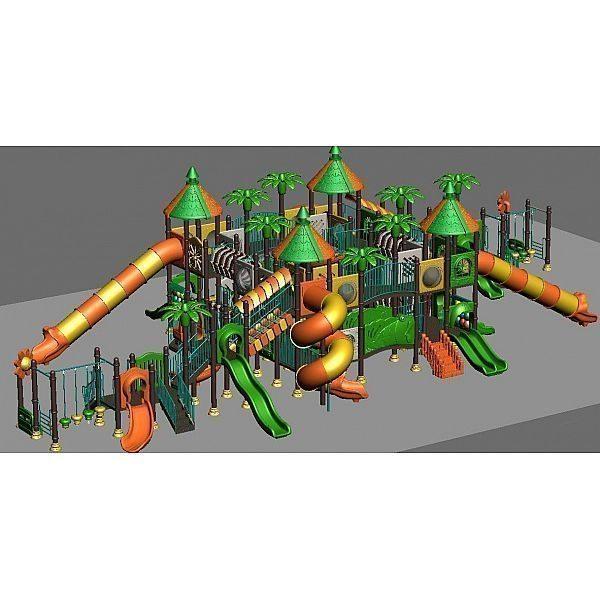 Игровой комлекс-площадка для детей Nature Series HDS-ZR730