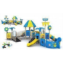 Игровой комлекс-площадка для детей Pirate Ship HDS-HD146