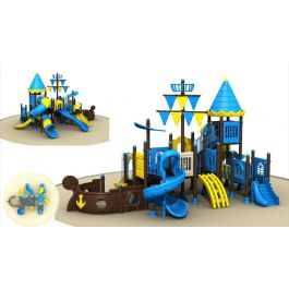 Игровой комлекс-площадка для детей Pirate Ship HDS-TQ-HD147