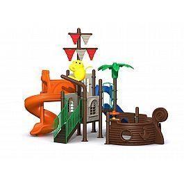 Игровой комлекс-площадка для детей Pirate Ship HDS-HD101
